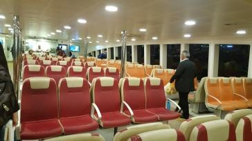 los barcos, son realmente estupendos, nuevos, limpios, baratos, seguros, CALIDAD turca que se nota